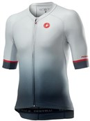 Product image for Castelli Aero Race 6.0 Full Zip Short Sleeve Jersey