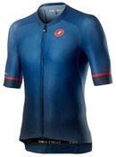 Castelli Aero Race 6.0 Full Zip Short Sleeve Jersey