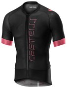 Product image for Castelli Climbers 2.0 Full Zip Short Sleeve Jersey