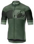 Castelli Ruota Full Zip Short Sleeve Jersey