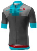 Product image for Castelli A Bloc Full Zip Short Sleeve Jersey