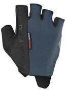 Castelli Rosso Corsa Espresso Short Finger Gloves