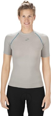 Square Be Cool Womens Short Sleeve Base Layer