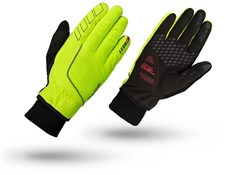 Product image for GripGrab Windster Hi-Viz Winter Long Finger Cycling Gloves
