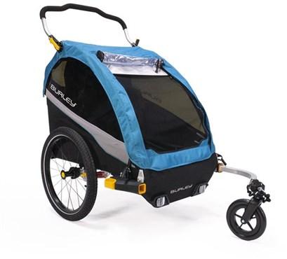 Burley Dlite X Aqua Child Trailer | bike_trailers_component