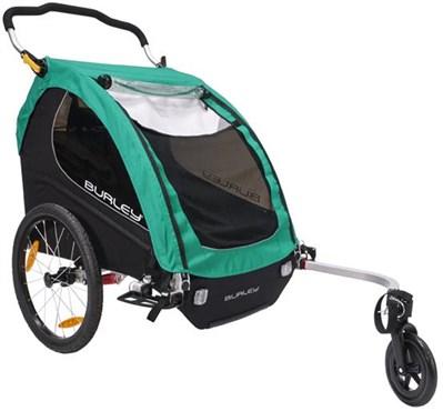 Burley Encore X Turquoise Child Trailer | bike_trailers_component
