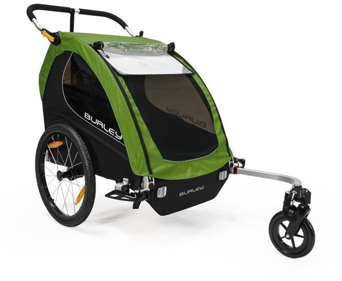 Burley Encore Treetop Green Child Trailer | Trailer til cykler