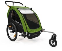 Product image for Burley Encore Treetop Green Child Trailer
