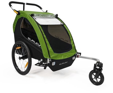 Burley Encore Treetop Green Child Trailer