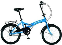 Product image for Dawes Diamond 20W - Nearly New 2018 - Folding Bike