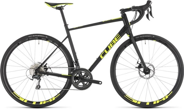 Cube Attain Race Disc - Nearly New - 60cm 2019 - Road Bike