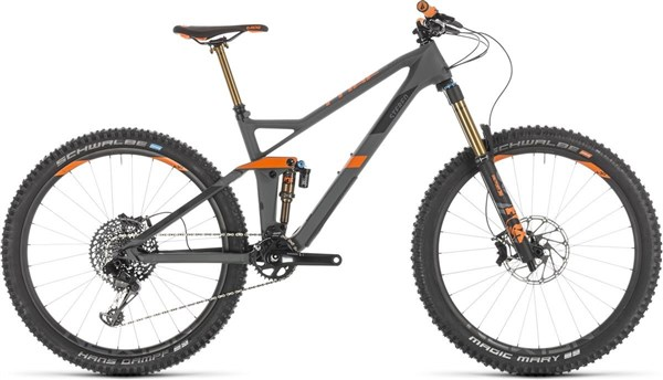 "Cube Stereo 140 HPC TM 27.5"" - Nearly New - 20"" Mountain Bike 2019 - Full Suspension MTB"