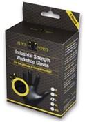 Black Mamba Black Mamba Nitrile Workshop Gloves - 8 Pack