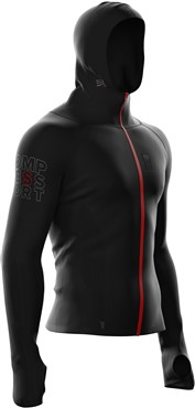 Compressport 3D Thermo Seamless Woodpulp Zip Hoodie