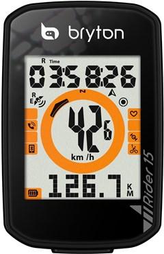 Bryton Rider 15 Cycle Computer