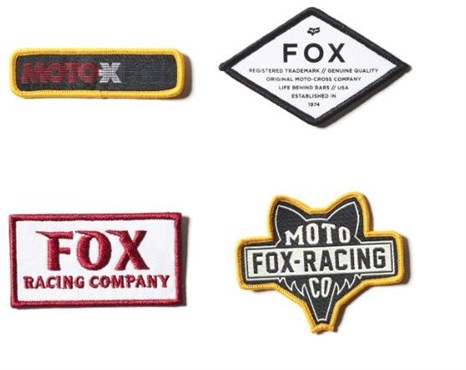 Fox Clothing Patch Pack |