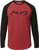 Product image for Fox Clothing Strap Airline Long Sleeve Tee