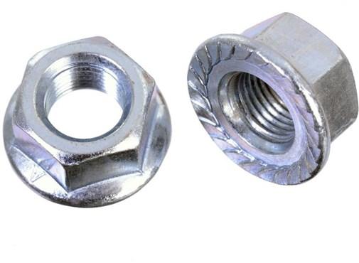 Id Flanged Axle 3/8 Wheels Nuts