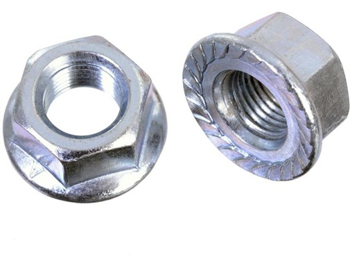 "ID Flanged Axle 3/8"" Wheels Nuts"