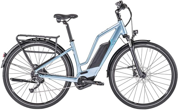 Lapierre Overvolt Trekking 600 Womens 400Wh 2019 - Electric Hybrid Bike | City-cykler
