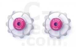 Product image for C-Bear Titanium Pulley Ceramic Jockey wheels