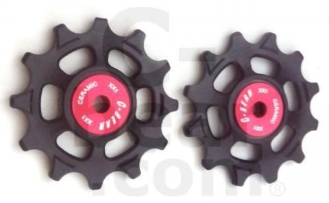 C-Bear Delrin Thermoplastic jockey Ceramic bearing pulley XX1 | Rear derailleur