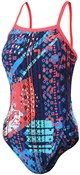 Zone3 Girls Aztec 2.0 Strap Back Swimming Costume