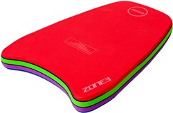 Zone3 Multi-coloured Tropical Swim Kickboard