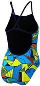 Zone3 Girls Prism 2.0 Strap Back Swimming Costume