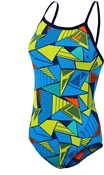 Zone3 Prism 2.0 Strap Back Womens Swimming Costume