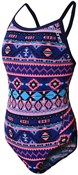 Zone3 Aztec Bound Back Womens Swimming Costume