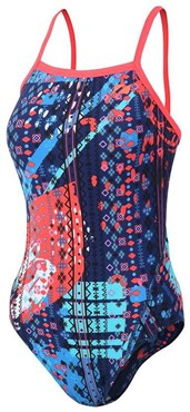 Zone3 Aztec 2.0 Strap Back Womens Swimming Costume