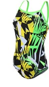 Zone3 High-Jazz 2.0 Strap Back Womens Swimming Costume