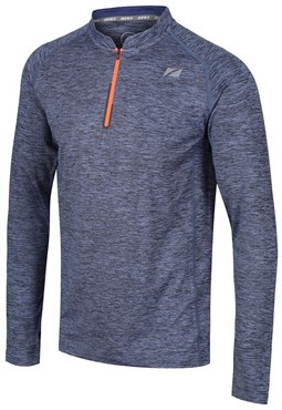 Zone3 Zip Soft-Touch Technical Long Sleeve T-Shirt