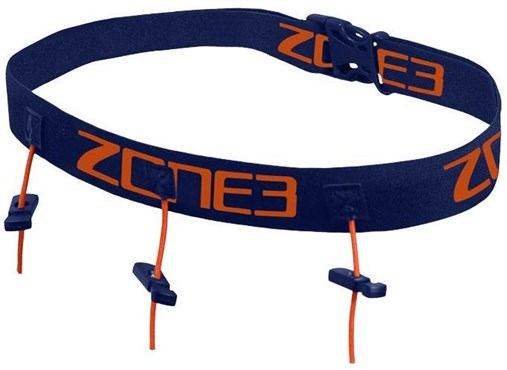Zone3 Ultimate Race Number Belt With Gel Loops
