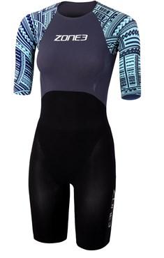 Zone3 Kona Target Womens Short Sleeve Swimskin