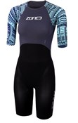 Zone3 Kona Target Womens Short Sleeve Swimskin