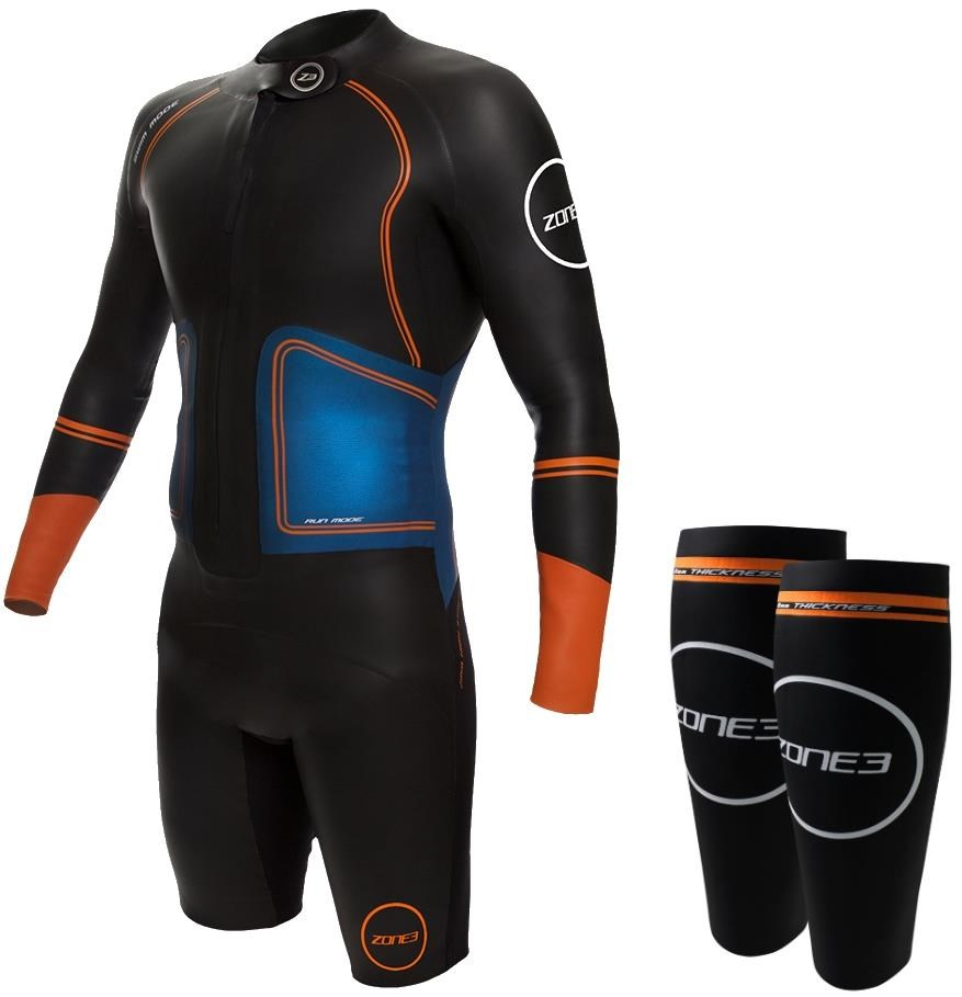 Zone3 Swim-Run Evolution Wetsuit with 8mm Calf Sleeves | swim_clothes