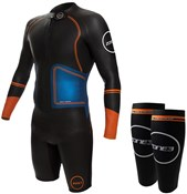 Zone3 Swim-Run Evolution Wetsuit with 8mm Calf Sleeves
