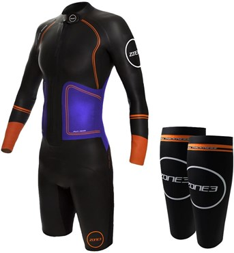 Zone3 Swim-Run Evolution Womens Wetsuit with 8mm Calf Sleeves ... feaec58c1