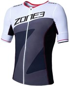 Product image for Zone3 Lava Long Distance Tri Top Short Sleeve
