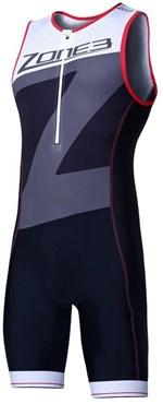 Zone3 Lava Long Distance Full Zip Short Sleeve Trisuit