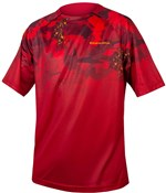 Product image for Endura SingleTrack LTD Print Short Sleeve Technical Tee