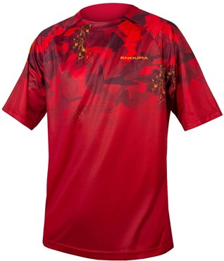 Endura SingleTrack LTD Print Short Sleeve Technical Tee