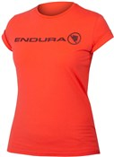 Endura One Clan Womens Short Sleeve Cycling Tech Tee