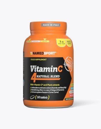 Namedsport Vitamin C 4 Natural Blend Food Supplement - 90 Tablets | Misc. Nutrition