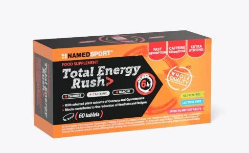 Named Sport Nutrition Total Energy Rush Food Supplement - 60 Tablets