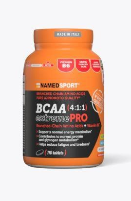 Namedsport BCAA 4:1:1 Extreme PRO Food Supplement | Protein bar and powder