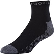 Troy Lee Designs Starburst Quarter Crew Socks (3 Pack)