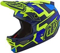 Troy Lee Designs D3 Fiberlite Speedcode Full Face Helmet